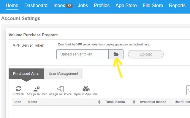 How to Distribute iOS Apps using Apple Volume Purchase Program (VPP) - Upload Token
