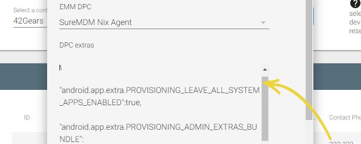 Zero Touch Enrollment in SureMDM - DPC Details