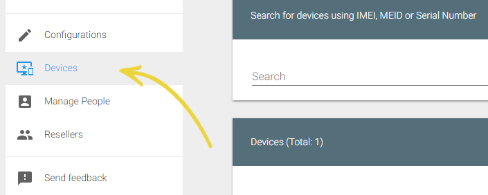 Zero Touch Enrollment in SureMDM - Devices