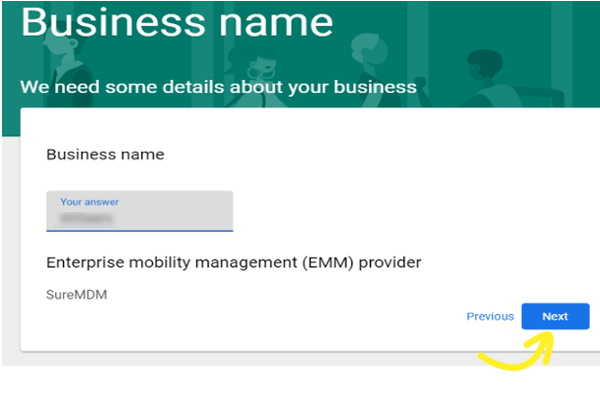 Dedicated Devices_EMM Provider name