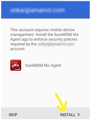 Dedicated_Devices_SureMDM Nix Agent_install