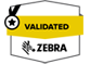 Zebra validation logo
